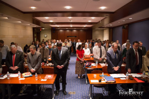 Moment of Silence for the young boys murdered in Israel and for all victims of terrorism at The July 9th Symposium